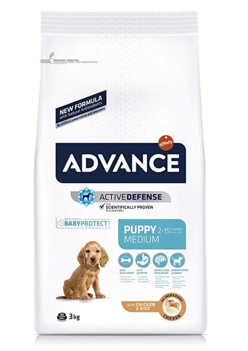 Advance medium puppy pienso de pollo