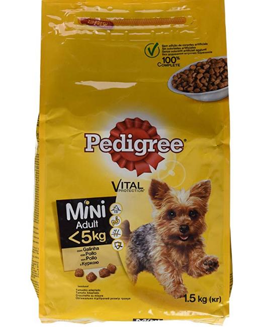 Pienso para perros pequeños - Pedigree