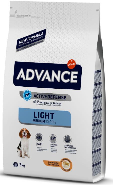 Advance - Pienso para perros light MEDIUM