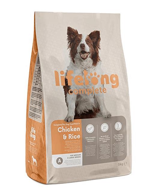 Lifelong Complete- Alimento seco completo para perros adultos
