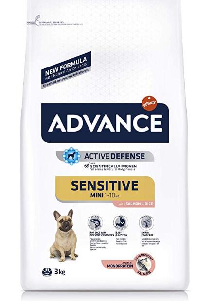 Advance Sensitive - Pienso para perros pequeños