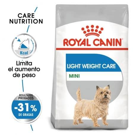 Pienso para perros esterilizados Royal Canin mini light