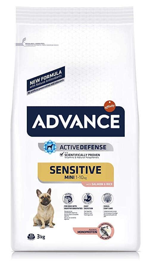 Pienso para perros Advance Sensitive