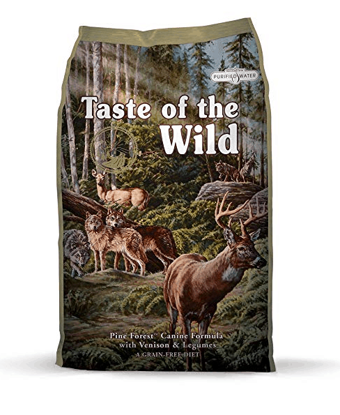 Pienso para perros Taste of the Wild Canine Pine Forest Venado