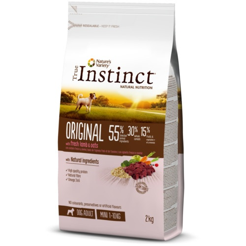 True Instinct Original - Pienso para perros pequeños