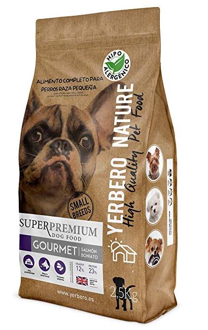 Yerbero Nature Gourmet - Pienso para perros pequeños