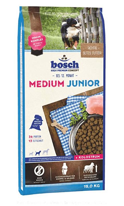 Bosch HPC medium junior comida seca