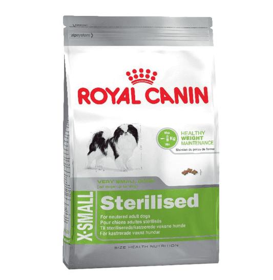 Pienso para perros esterilizados Royal Canin X-Small Sterilised