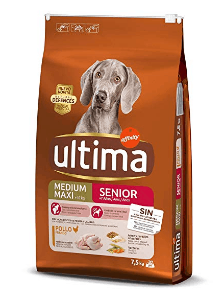 Ultima - Pienso para perros medium-maxi senior