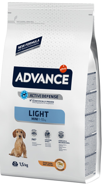 Advance Light - Pienso para perros MINI