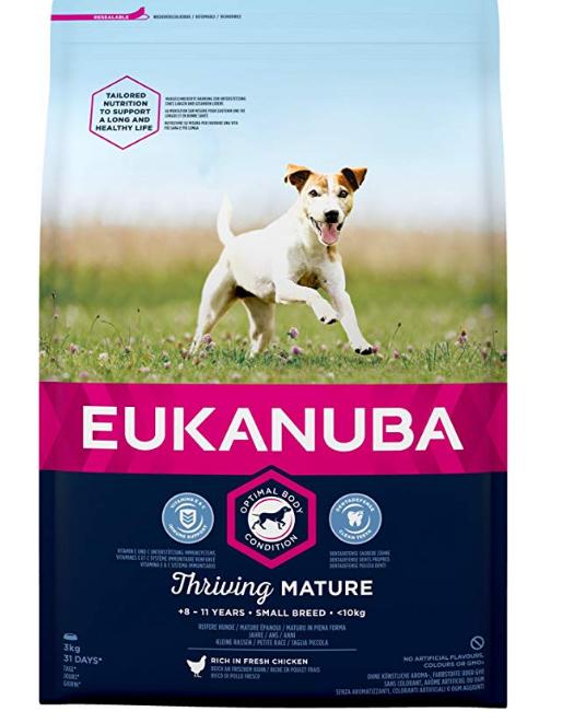 Eukanuba - Pienso para perros adultos de raza pequeña